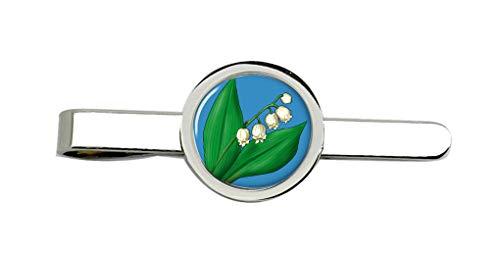 Family Crests Maiglöckchen Clip-Krawatte Nadel
