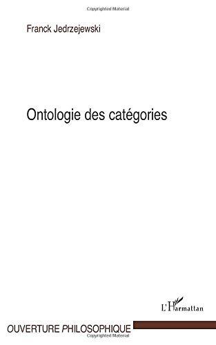 Ontologie des catégories