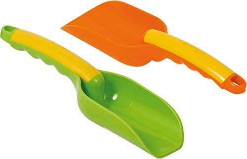 GOWI 559-12 Design Schaufel, einzeln, farblich Sortiert, Sandkästen und Sandspielzeug