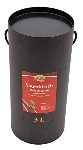 Bleichhof Sauerkirschsaft - 100% Direktsaft OHNE Zuckerzusatz, Bag in box (1x 3l)