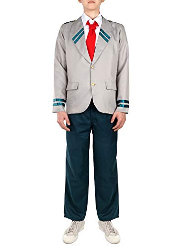 CoolChange Disfraz de My Hero Academia con cremallera de Izuku Midoriya   uniforme escolar de Deku   Talla: M