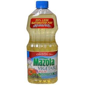 MAZOLA free shipping VEGETABLE OIL OZ Ranking TOP5 PLUS 40