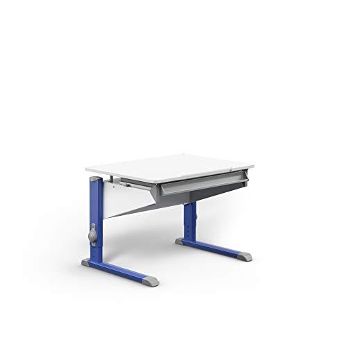 moll Bandit CP Füße Blau ohne Erweiterung Kinderschreibtisch, Holz, 27.8 kg