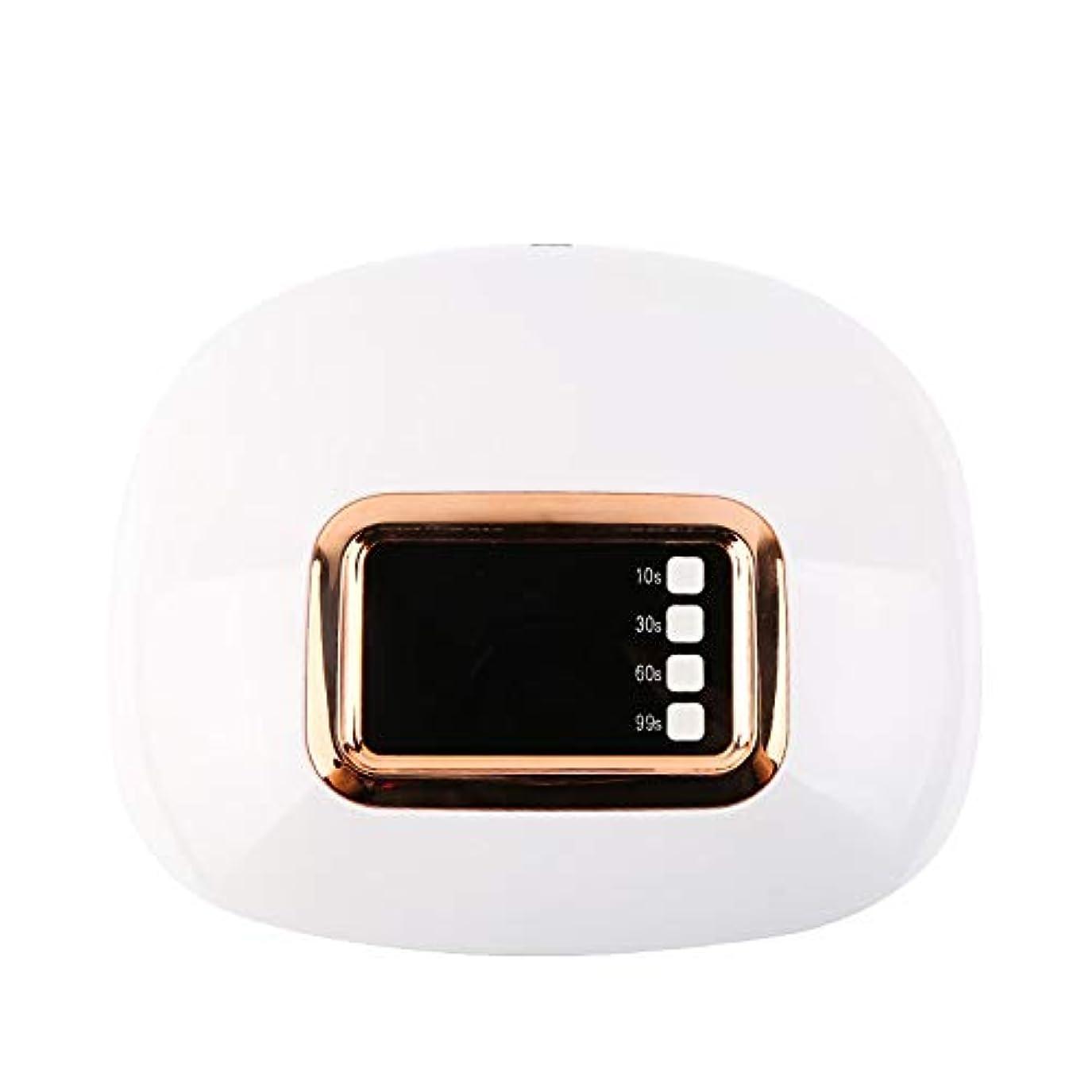 フライカイトミシン不倫4つのタイマーおよびシェラックおよびゲルの釘のためのデジタル表示装置が付いている専門の紫外線およびLEDの釘ライトおよび釘のドライヤー