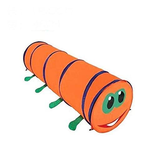 SHWYSHOP Tienda de túnel de juego de juguete para niños, juego de oruga emergente túnel de juego interior y exterior regalos de juguete