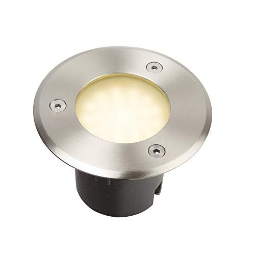 Spot led encastrable extérieur 230V blanc chaud - Diam 10 cm