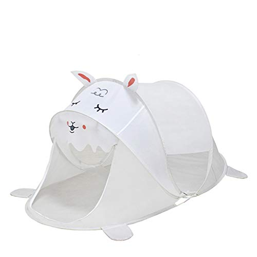 C-J-Xin Pop-up Carpa, Super Light niños al Aire Libre Tienda de campaña portátil Tienda de la Playa de Dinosaurio/Unicorn Alpaca Playhouse / - 96 * 182 * 86cm Tiendas de campaña