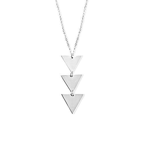 VIENTO Triangle Halskette (Silber)