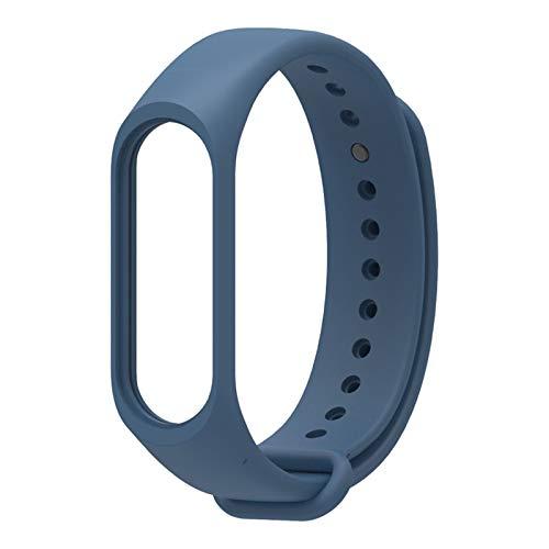 LYB Accesorios de Reloj de Pulsera Inteligente para Xiaomi MI Banda 4 Nuevo reemplazo Silicone Strap Strap Watch Band Smart Watch (Color : 1)