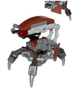 LEGO Star Wars Minifigur Droideka out of Set 75092