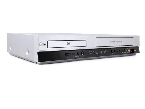 LG V 280 DVD-Player / VHS Hi-Fi-Videorekorder Kombination Silber
