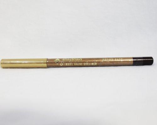 Jordana Eyeliner Pencil (Brown Rage) by Jordana