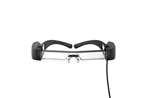 Epson Moverio BT-40 - Augmented-Reality-Brille, erzeugt einen virtuellen Arbeitsplatz, AR-Brille kann ein zweiter Bildschirm für Ihre Privatsphäre angezeigt, Si-OLED-Technologie, Full HD 1080p-Display