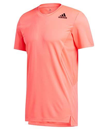 adidas TRG tee H.RDY Camiseta, Hombre, rossen, L