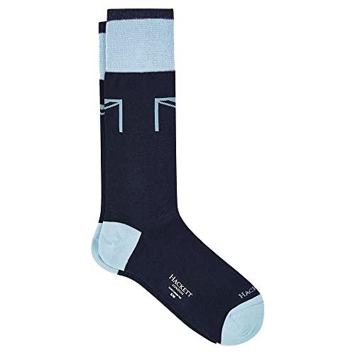 Hackett London Mens Union Socks, 595NAVY, ML