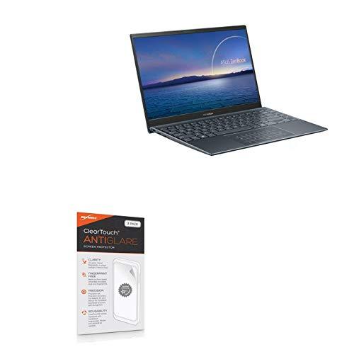 BoxWave Protetor de tela para ASUS ZenBook 14 UM425UG [ClearTouch Anti-Glare (pacote com 2)] Película fosca anti-impressão digital para ASUS ZenBook 14 UM425UG