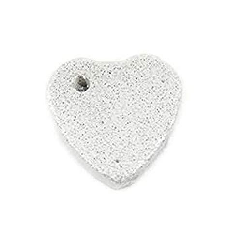 CZ-XING Piedras de molienda de animales pequeños para mascotas, cuadradas, gotas de agua, piedra de corazón atón, conejo, ardilla, hámster, pájaro, chinchillas, cobayas (1 forma de corazón grande).
