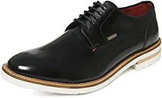 TONI ROSSI Men's Blue Elroy Leather Formal Shoes (650005)