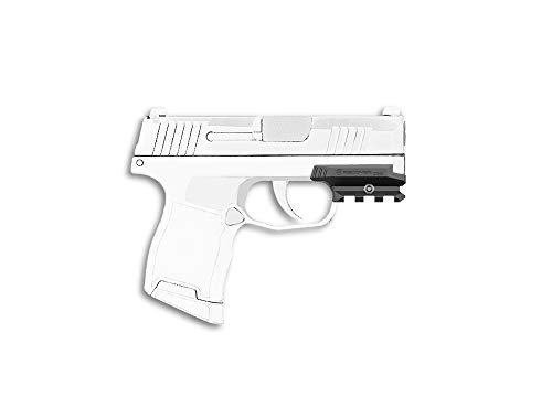 Recover Tactical ZR65 Picatinny Over Rail for The Sig P365 Easy Installation No Modifications Required to Your Firearm no Need for a Gunsmith Installs in Under 3 Minutes