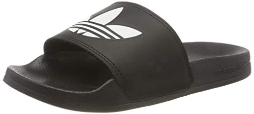 adidas Adilette Lite, Scarpe da Ginnastica Uomo, Core Black/Ftwr White/Core Black, 43 EU