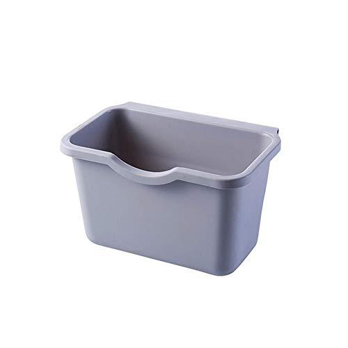 ZFF Mülltonne Trash Can - Küchenschranktür hängend Trash Can Can Trash Can Haushaltsreinigung Werkzeuge Trash Can schön und praktisch Durable sauber und ordentlich (Color : A)