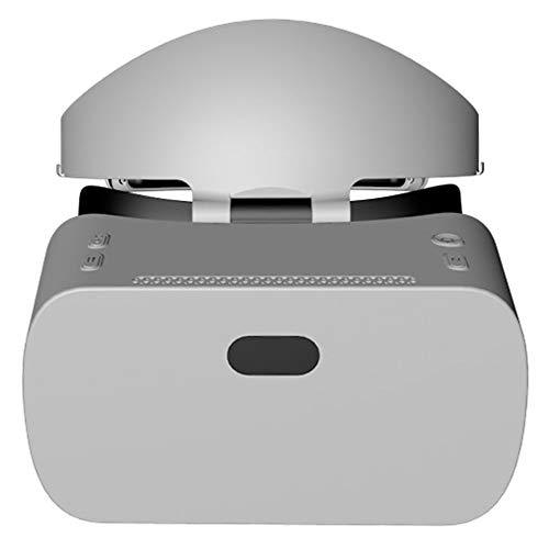 YANJINGYJ 3D VR Brille Virtuelle Realität Kopf montiert Alles in einem Maschine,1440 * 2560 2K Bildschirm,zum 2D 3D VR Video und Spiel,Grau