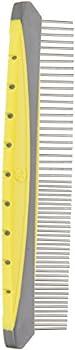 JW Pet Company Gripsoft Peigne rotatif confortable, fin et épais 20,3 cm