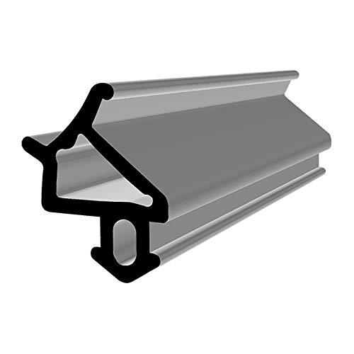 Fensterdichtung S-1530 schwarz 5m Gummidichtung Tür Balkon Dichtungsband Oberlicht Scheibe Luftzugstopper