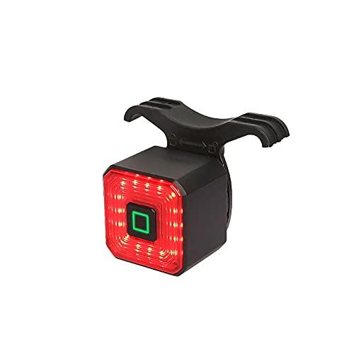 Heigmzqxd Luz Bicicleta Delantera, La luz de la Cola del Sensor de Carga USB, Enciende/apaga automáticamente y disminuya la Velocidad de Flash, IPX4 Impermeable, Adecuado para: Montaña, Carretera, N