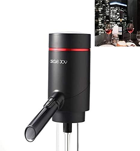 angelhjq elektrische wijnfles beluchter automatische wijnfles dispenser USB oplaadbare one-touch wijnkaraf en…