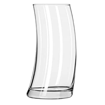 Libbey 2212 Bravura Curved 16.75 Ounce Tumbler Glass - 12 / CS