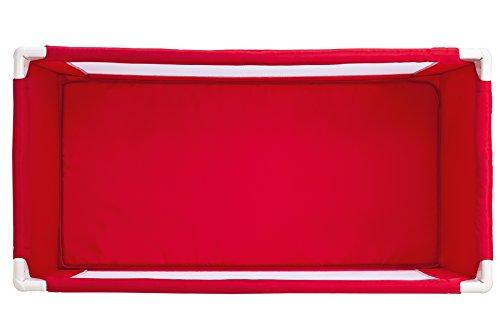 Safety 1st Soft Dreams - Cuna de viaje, color Red Lines