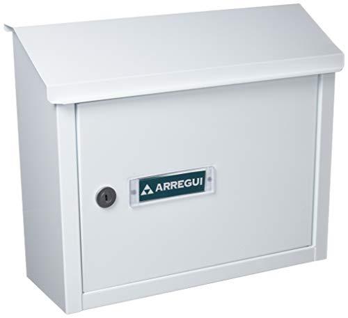 Arregui v-4060 - brievenbus aluminium wit