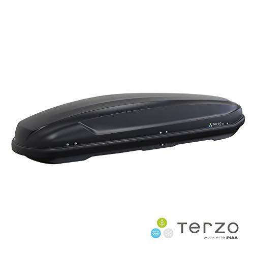 Terzo テルッツォ (by PIAA) ルーフボックス 520L ORCA マットブラック 両開き イージークランプ取付 EA520B
