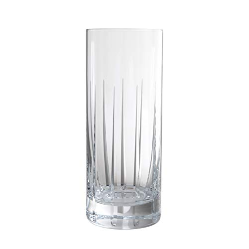 Schott Zwiesel Tritan Crystal Glass Distil Barware Collection Kirkwall Collins Cocktail Glasses (Set of 6), 11.1 oz, Clear