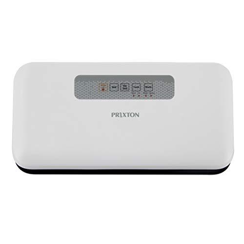 PRIXTON - Envasadora al vacío domestica de Alimentos/Máquina selladora al vacío, Modo Manual y automático, para Alimentos húmedos, Secos y frágiles, Bolsas Incluidas | VS100