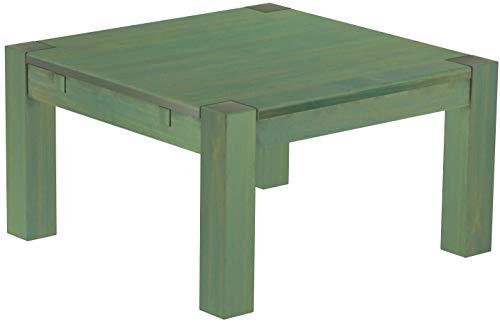 Brasilmöbel, Rio Kanto, salontafel, 80 x 80 cm, bamboe, mintgroen, woonkamertafel, houten tafel, massief houten salontafel, bijzettafel, echt hout, afmetingen en kleur naar keuze