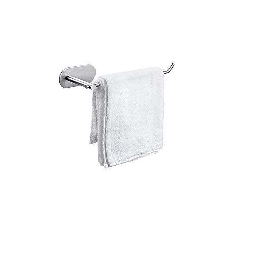 BeiLan タオルリング 壁掛け 粘着式 304ステンレス製 タオルホルダー タオル掛け タオルバー タオルハンガー お風呂 キッチン 洗面台 収納