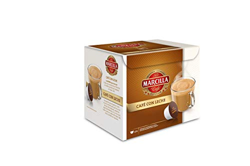 MARCILLA Café con Leche - cápsulas...