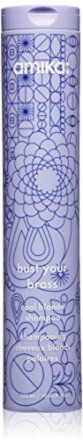 amika Bust Your Brass Cool Blonde Shampoo, 10.1 Fl oz
