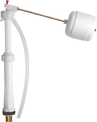 """Fominaya 0144300310 Grifo extensible vertical 3/8"""", conexión metálica, Negro, Estandar"""