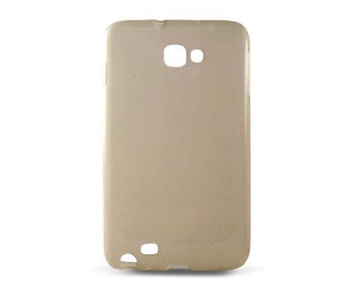 Ksix B8499FTP01 - Funda flexible para Samsung Galaxy Note N7000, gris translúcido
