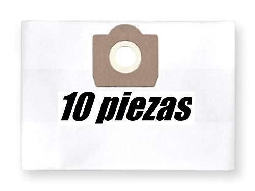 10x Staubbeutel Filtersack für Kress 1200 NTX/EA