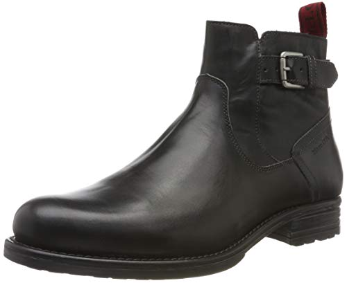 Marc O'Polo Herren 90725005004100 Klassische Stiefel, Grau (Dark Grey 930), 45 EU