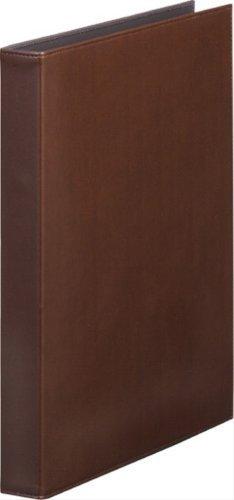 キングジム レザフェス リングファイル 茶 1961LFチヤ 00007359 【まとめ買い3冊セット】