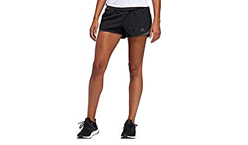 adidas Women's Run It Shorts, Black/Grey, X-Small 3