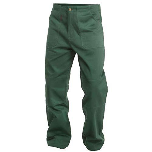 Logista Handel Charlie Barato® Gärtnerhose - waschfeste Bundhose grün - robuste Arbeitshose (54)