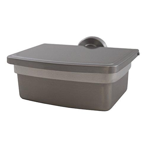 Edelstahl Feuchttücherbox Freistehend und Wandmontage inkl. Innenbehälter