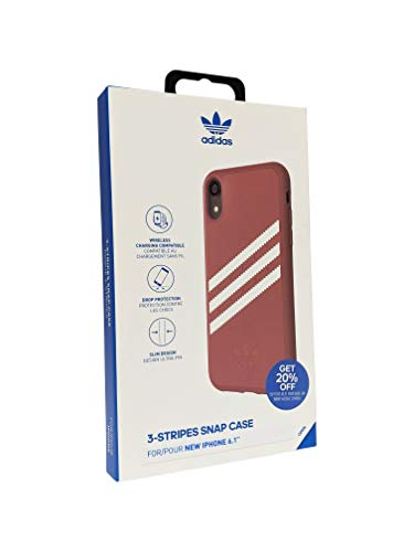 Adidas Gazelle Case for iPhone XR Maroon/White