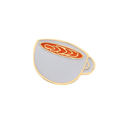 Enamel Pins Tea Cup Teapot Coffee Machine Brooches High Quality Metal for Women Men Lapel Pin Clothes Badges Accessories-Style 3